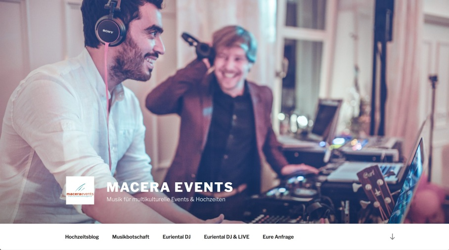 Macera Events Screenshot